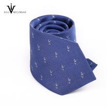 Cravates imprimées 100% de drapeau de polyester faites sur commande pour les hommes