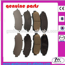 Rear Axle AKB 43022-S9A-010 Brake Pad Raw Material ,Car Spare Parts Brake Pad