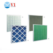 Filtro de malha de nylon de papel de filtro Hepa