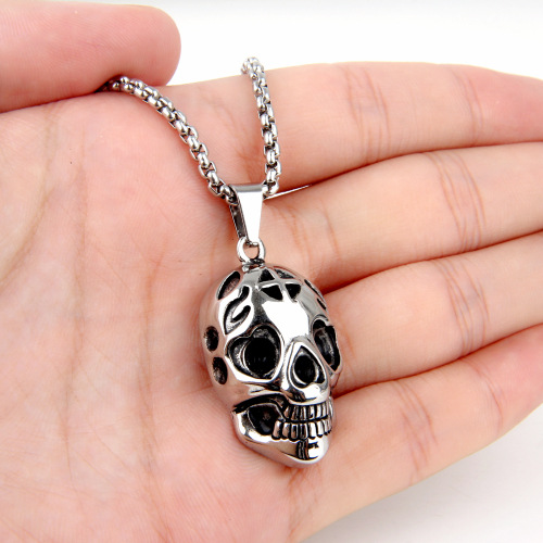 New Design Customized Hip Hop Jewelry skull Pendant