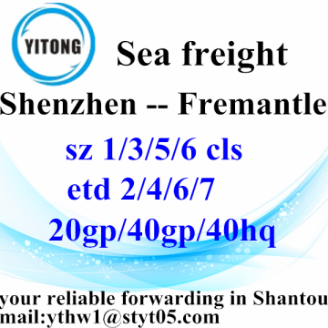 Shenzhen Global Freight Forwarder agente até Fremantle