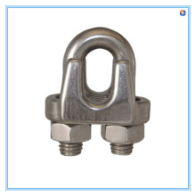 Stainless Steel Wire Rope Shackle with Polished Finish