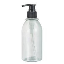 Petites bouteilles de lait en plastique
