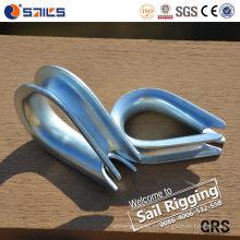 Dedales galvanizados de la cuerda de alambre DIN6899b