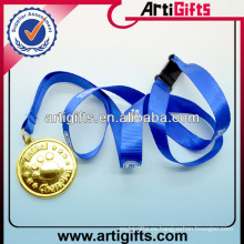 Cuerda de nylon del acollador de la moda más nueva con la medalla