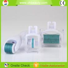 2015 Terapia caliente de la microneedle de la cara de la venta Cuidado 3 de la piel en 1 rodillo del derma