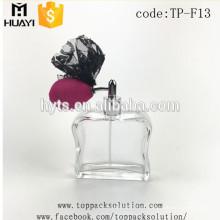 Botella de perfume de cristal decorativa del nuevo diseño 50ml 100ml
