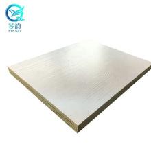 Qinge good selling polyester veneer plywood for furniture
