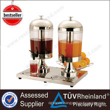 Restaurant Machines Double Heads Refrigerated Juice Dispenser Prices