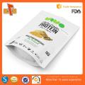 La qualité alimentaire de qualité supérieure se porte sur un sac à fermeture éclair personnalisé écologique