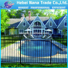 Swimming pool Safety fences / Metal Pool Fence With Gate
