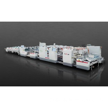 Automatic Two-piece splicing Folder gluer