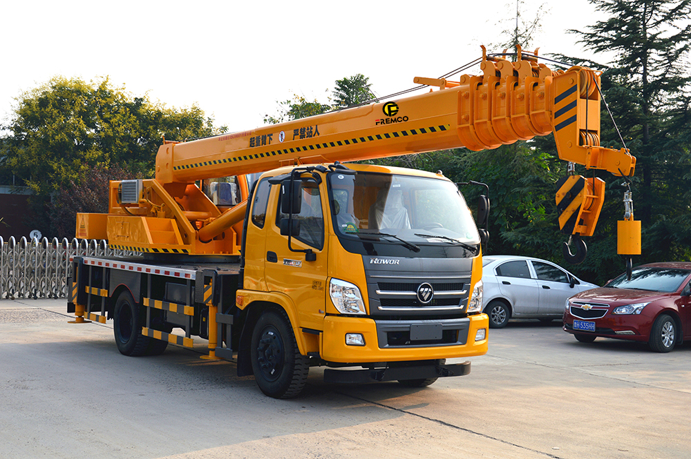 How Does Telescopic Boom Crane Works