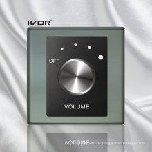 Commutateur de contrôle du volume dans un cadre de contour en plastique (SK-AP2300VH, SK-AP2300VL)