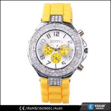 Reloj de dama del movt del diamante Japón