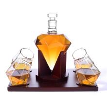 Whiskey Set Vodka Tequila Glass Skul L Shaped Globe Decanter Glasses Set