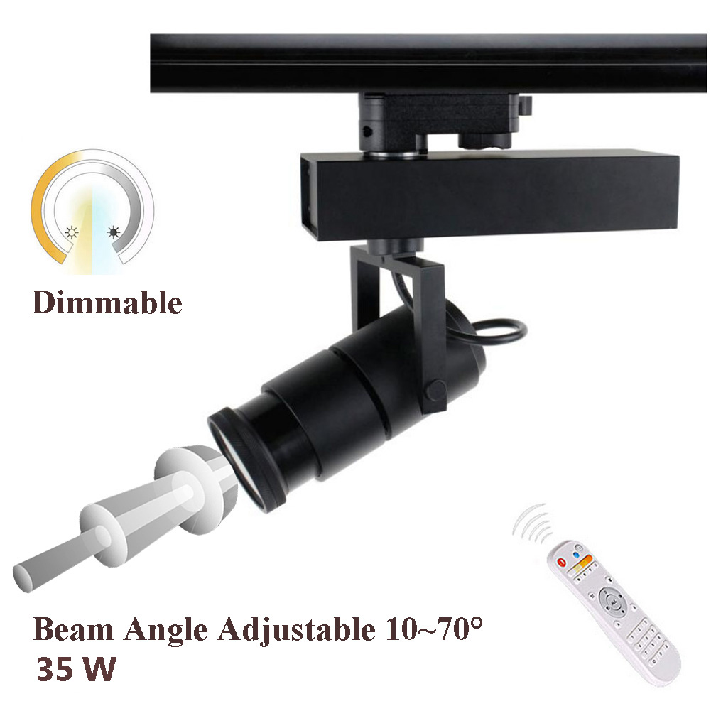 Focus Adjustable and Dimmable Track Light