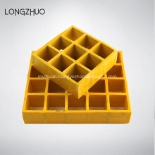 Different Surface Treatment Fiberglass Car Wsh Grate Floor