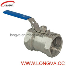 Straight Stainless Thread Steel Ball Valve