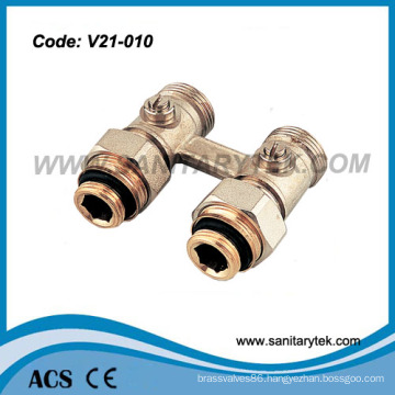Two-Pipe Straight Panel Radiators Valve (V21-010)