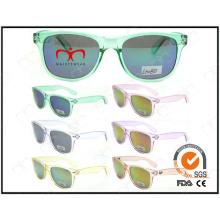 Óculos de sol de plástico dos miúdos da forma (LS1180)