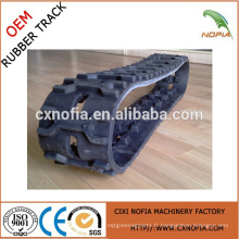 Hot New Product 140 * 80 * 24 Rubber Track with High Quality