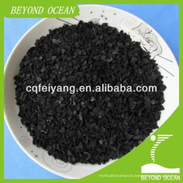 Proporcione el carbón activado de la cáscara del coco para el catalizador avanzado en venta