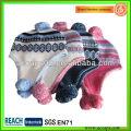 Bonnet d'hiver crocheté d'hiver avec oreillette BN-2636