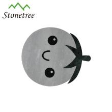 Placa de servir de queijo de pedra de mármore bonito