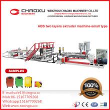 ABS Zwei-Schicht-Plastikblatt-Platten-Extruder-Fertigungsstraße-Maschine (kleinerer Typ)