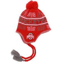 Chapeau en caoutchouc 100% en acrylique Jacquard Winter Warm Beanie Hat
