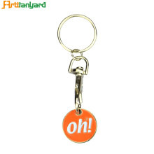 Double Sided Personalized Metal Keychain