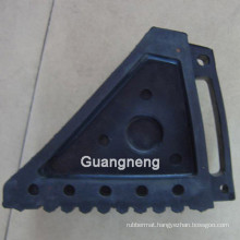 Black Rubber Wedge, Outdoor Rubber Flooring, Playground Rubber Flooring