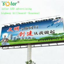 Уникальный стиль CE LED-Солнечный щит света; солнечной рекламы освещения system(JR-960)
