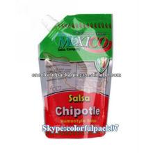 export surtidor bolsa de mexico / standing pouch with spout bag/ bolsa de agua