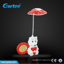 Mini Cartoon LED table lamp with Mirror