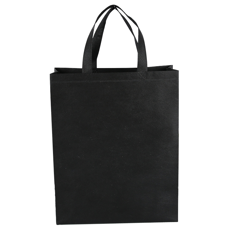 Black Non Woven Shopping Bags