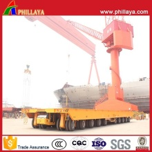 Self-Propelled Heavy Duty Hydraulic Platform Shipyard Transporter