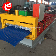 Corrugated roof sheet roll forming making machine