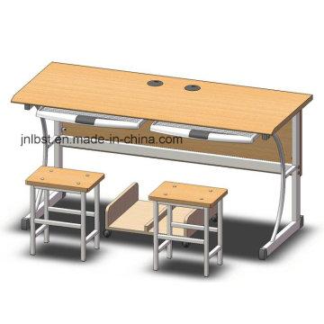 Environmental Friendly Double Computer Desk