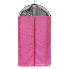 High grade pure color garment bag for suit