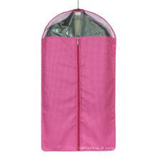 Saco de vestuário de cor pura de alta qualidade para o fato