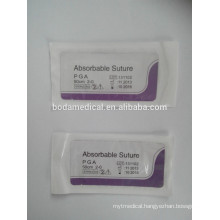 Surgical Suture Absorbable Polyglycolic Acid