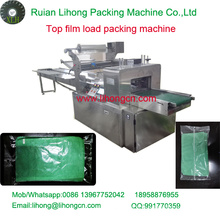 Gzb-250A High Speed Pillow-Type Cleaning Towel Wrapping Machine