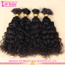 Asian hair bulk wholesale natural color indian hair bulk 30 inch