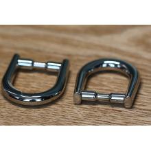Hochwertige Zinklegierungs-Metallgürtelschnalle für Handtasche