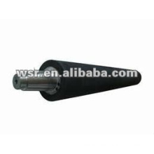 Molded rubber roller with in house mold factory