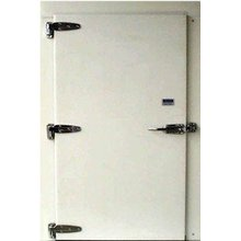 Gefrorene Kühlschranktür für kalten Lagerraum