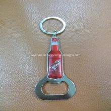Werbeartikel Coca Cola Bottle Opener Schlüsselanhänger gedruckt