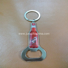 Promotional Coca Cola Printed Bottle Opener Keyrings